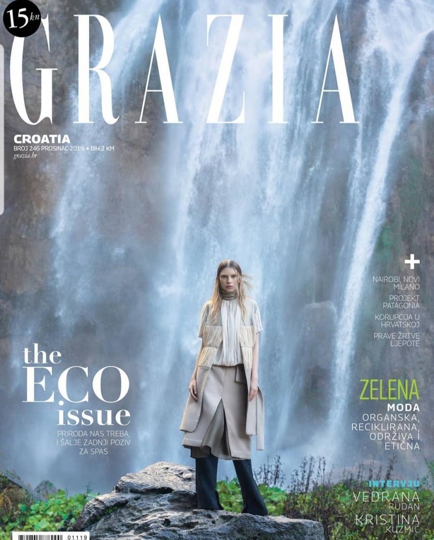 Midikennovo novo lice Klara Perica za naslovnicu Grazia magazina